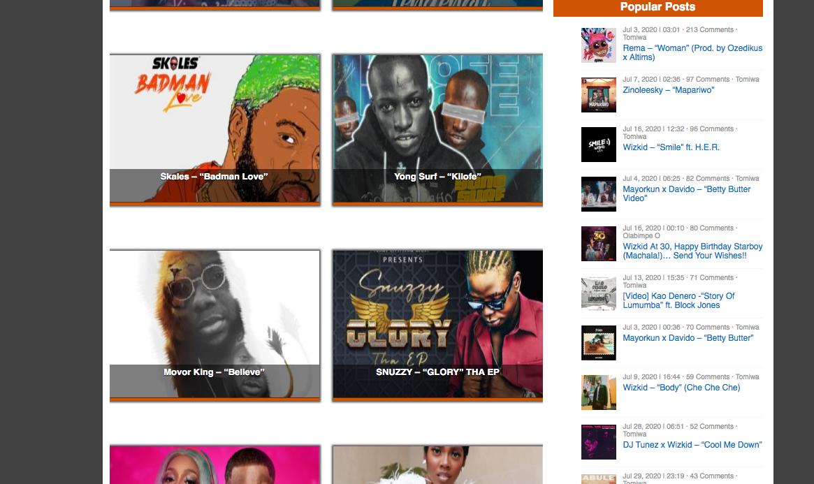 TooXclusive Latest Naija Songs Download