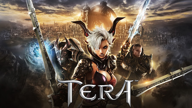 tera portada save screen, fondo de portada