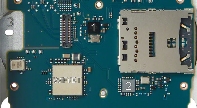 Sony NW-ZX500 PCB