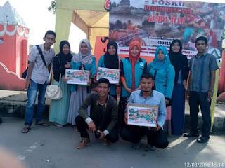 Relawan LPDA membuka Posko bantuan Korban Gempa Pidi Jaya