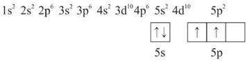 konfigurasi elektron SnCl4