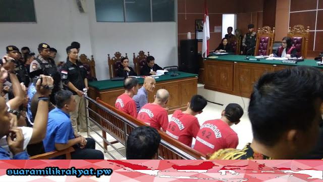 4 Warga Asing China Penyelundup 1,6 Ton Sabu Mengamuk, Usai DiVonis Mati