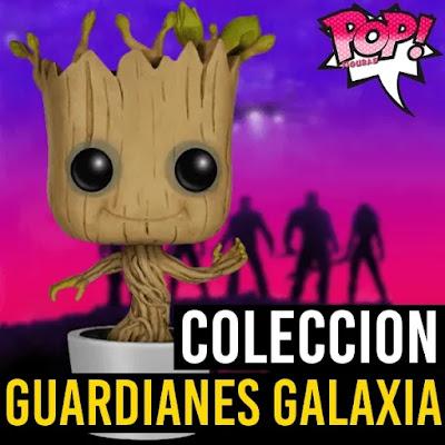 Coleccion funko pop de Guardianes de la galaxia lista completa