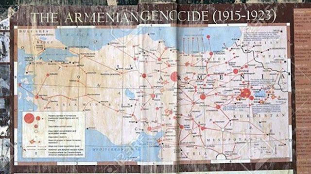 Preocupan mapas del genocidio armenio en Jerusalén