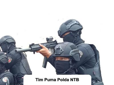 """Tim Puma Polda NTB Terbentuk, Menyerang """"Mangsa"""" Secepat Singa Gunung"""
