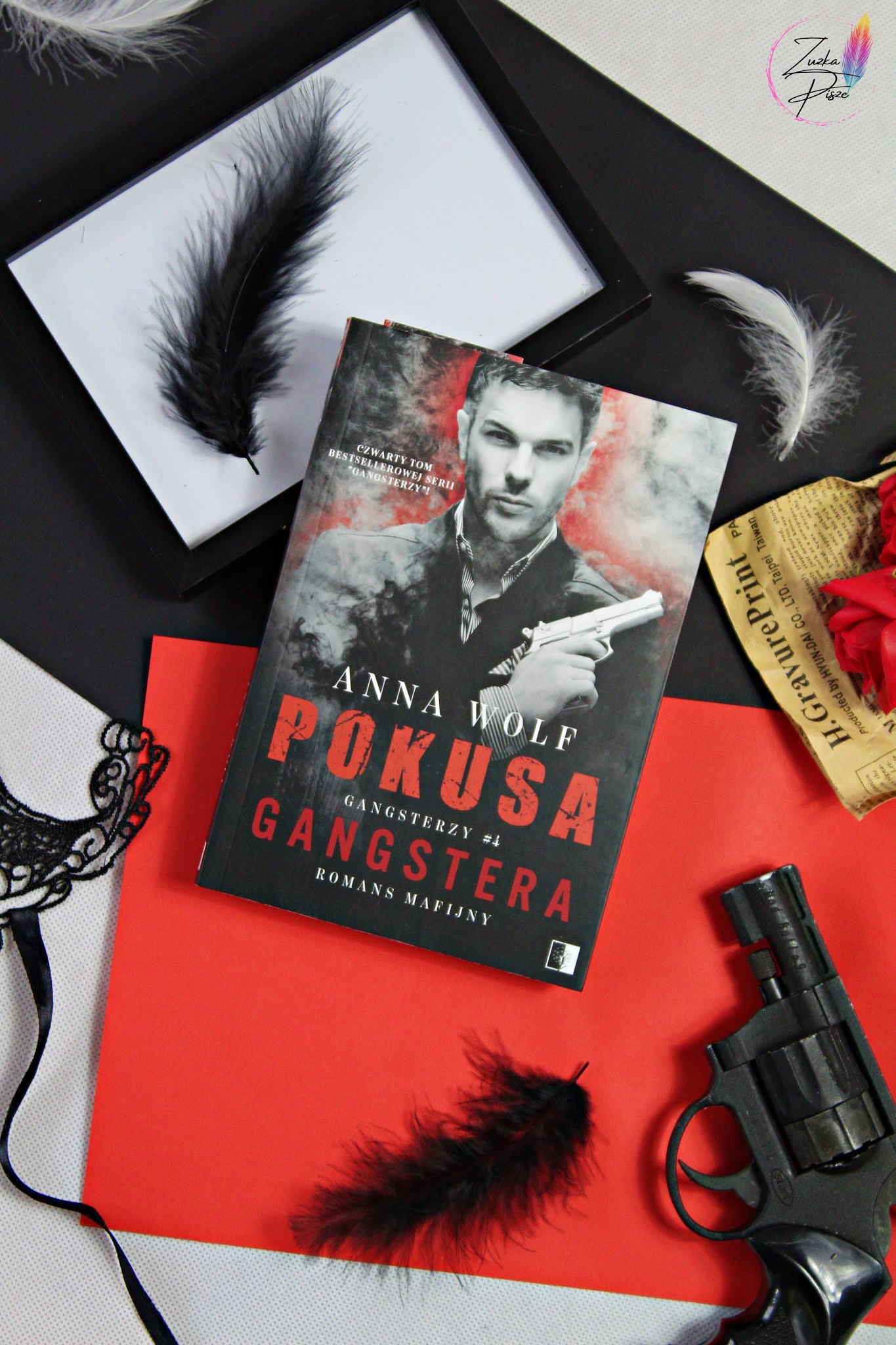 """Anna Wolf """"Pokusa Gangstera"""" - recenzja książki"""