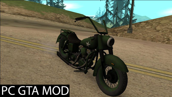 Free Download  Motorcycle Game Ride To Hell - Retribution  Mod for GTA San Andreas.