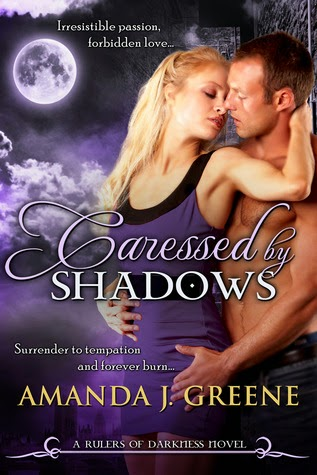 Caressed by Shadows by Amanda J. Greene