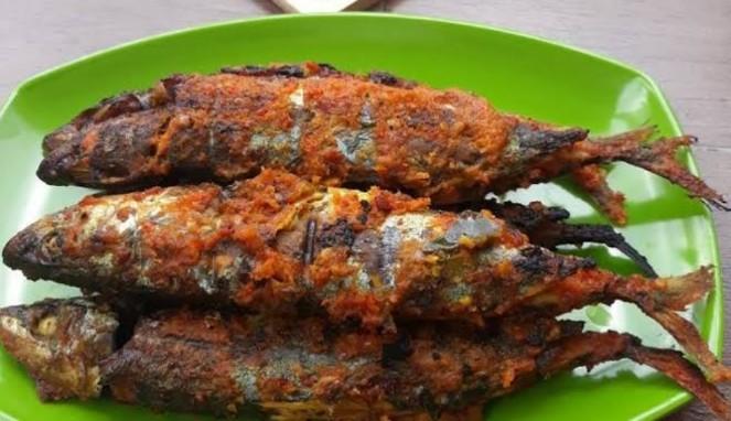Resep Ikan Kembung Bakar Padang