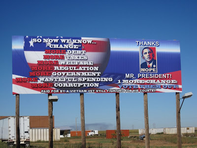Billboard in New Mexico