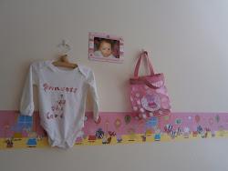 pig peppa bedroom wall frame toddler borders vhs mum nevaeh