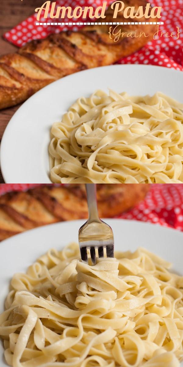 Homemade Almond Flour Pasta #Pastarecipes