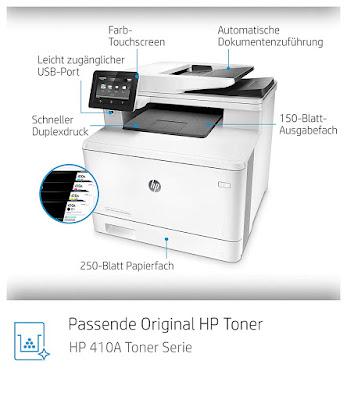 HP Color Laserjet MFP-Treiber M477fdn