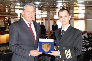 Λιμάνι Πειραιά: Το πλοίο OLYMPUS της Sea Speed Ferries πρώτο πλοίο του 2020
