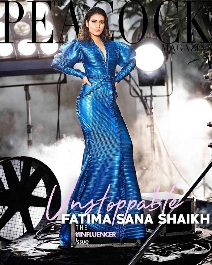 Fatima Sana Shaikh - Peacock Magazine Shoot Images