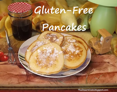 gluten free coconut flour pancakes photo by candy dorsey