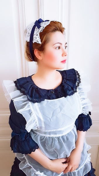 Souffle song, maid, victorian maid, inspired, lolita fashion, auris lothol
