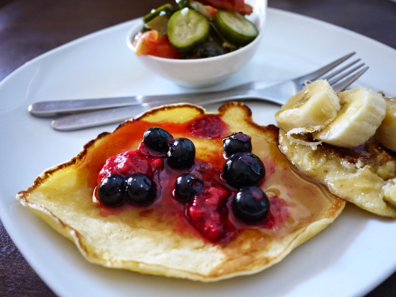 溫哥華的甜鹽巴小姐: 超好吃的美式Pancake食譜!