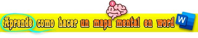 Aprender a crear un mapa mental en Word