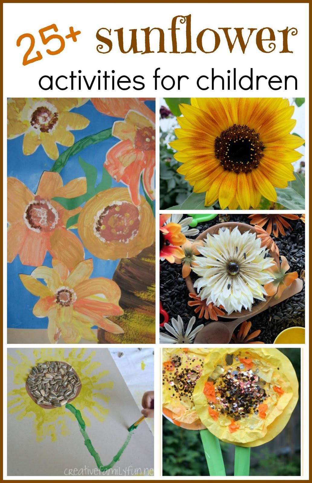 25 Sunflower Activities For Children