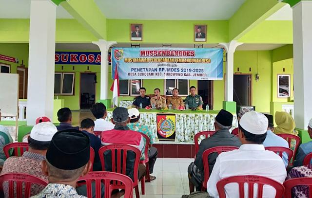 Mahasiswa Turut Sukseskan Musdes dan Musrenbang Desa Sukosari