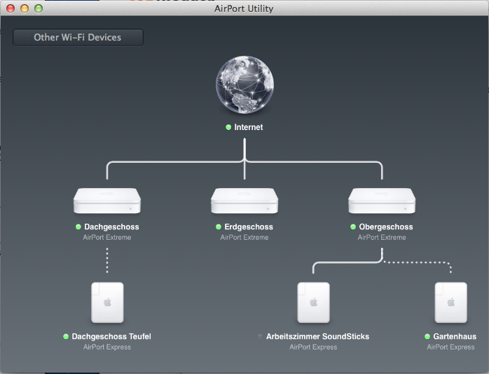 Darko Krizic TechBlog: Apple Airport Extreme Guest mode with