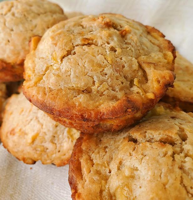 Banana Mango Muffins