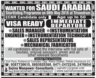 E&I engineers jobs Saudi Arabia