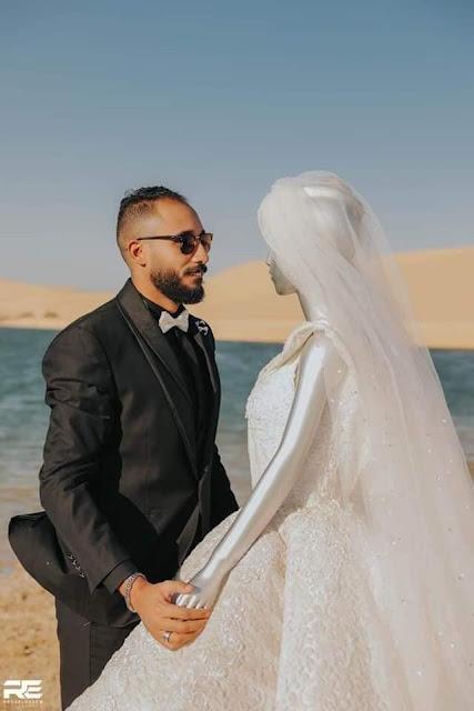 صاحب جلسة التصوير مع عروسة المانيكان يكشف تفاصيل الواقعة
