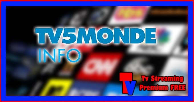 Live Streaming TV - TV5Monde Info