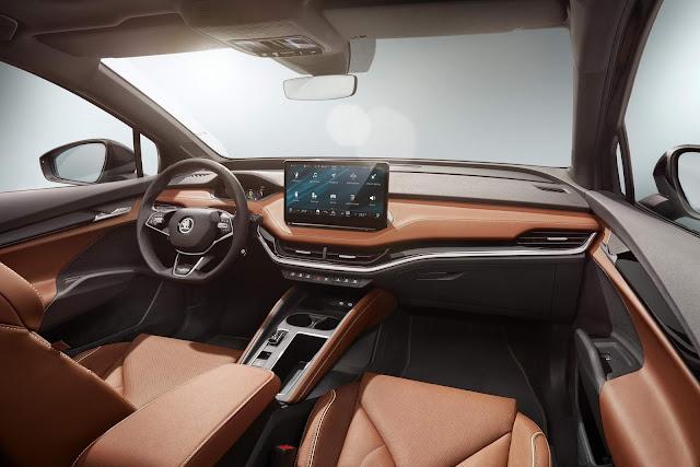Skoda Enyaq iV - SUV 100% elétrico do Grupo Volkswagen