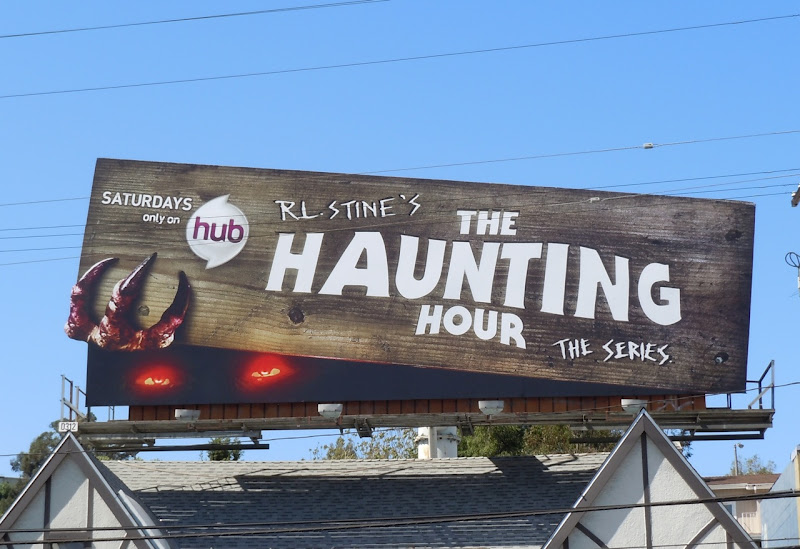 RL Stine's Haunting Hour TV billboard