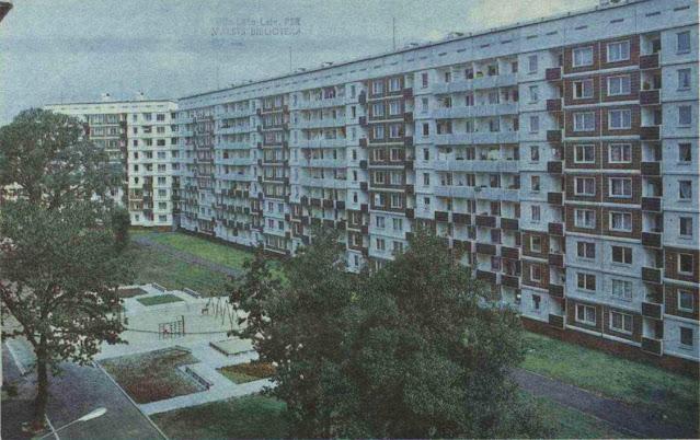 """1987 год. Рига. Золитуде-1. Улица Русес. Многоквартирные жилые дома. Фото из журнала """"Zvaigzne"""""""