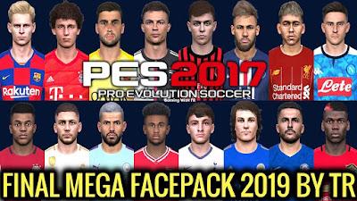 PES 2017 New Mega Facepack +695 Faces