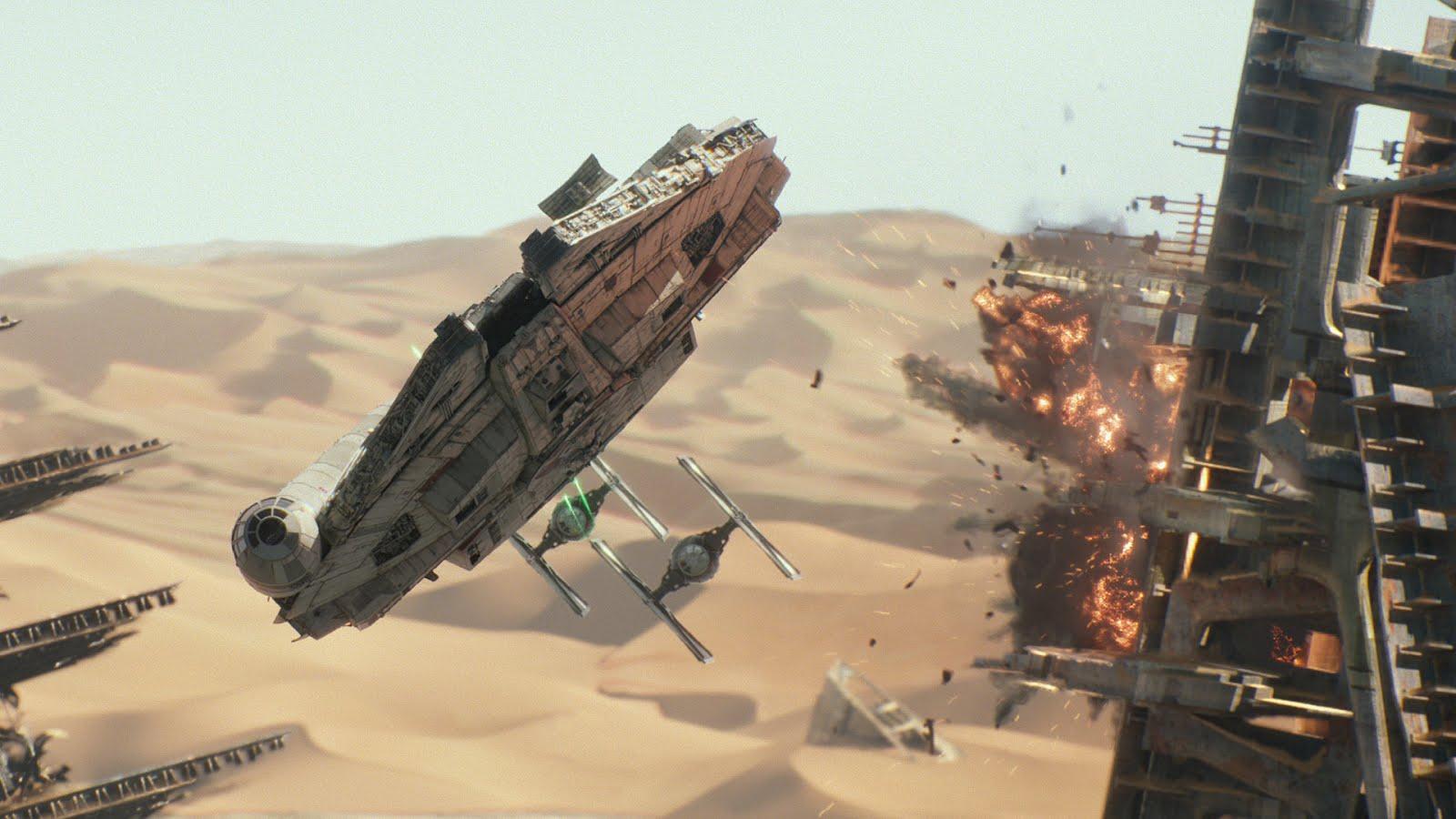 Nación De Superhéroes 7 Grandes Escenas De Star Wars Episodio Vii El Despertar De La Fuerza