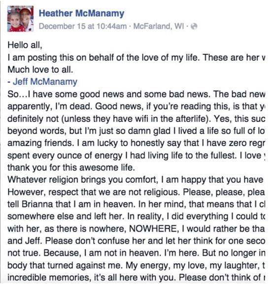 Carta Mi Madre Muerta