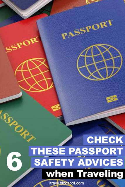 6 Safety Advises for your Passport when traveling