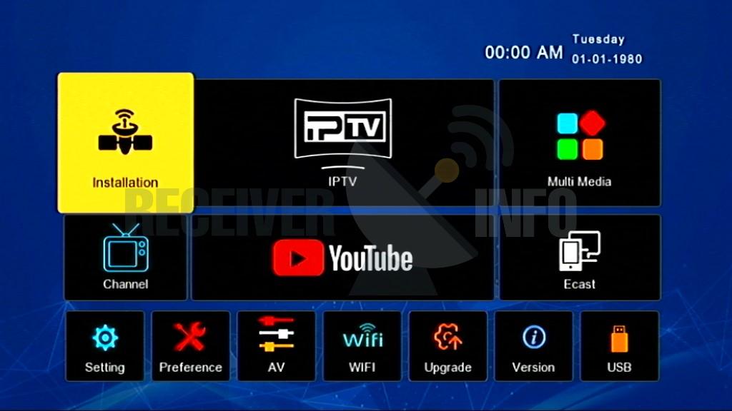 Sunplus 1506Tv Hd Receiver New Software With Internal & External Wifi Option
