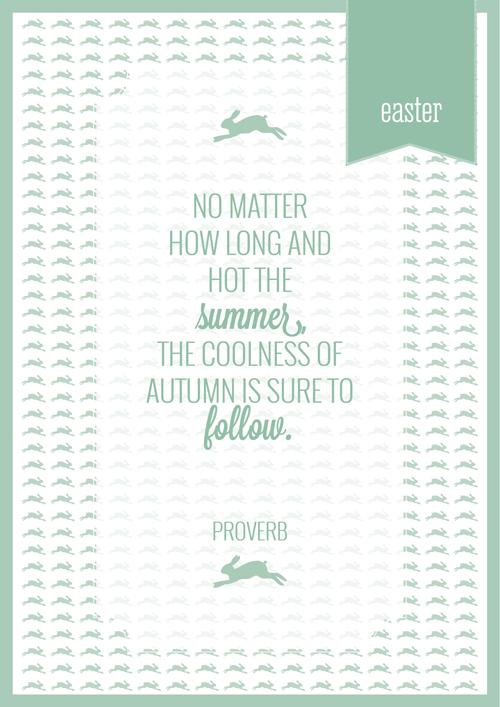 Easter Planner Cover - Southern Hemisphere - Hemlock
