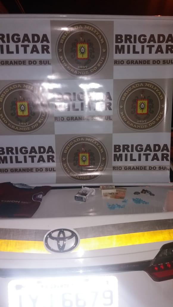 Brigada Militar prende traficantes no Sítio Gaúcho em  Gravataí