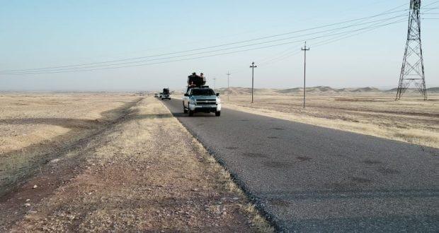 الحشد الشعبي يشرع بعملية أمنية في المناطق المحيطة بقضاء خانقين