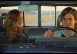 Mason Jr. takes his high school sweetheart, Sheena, on a date in Boyhood, Directed by Richard Linklater