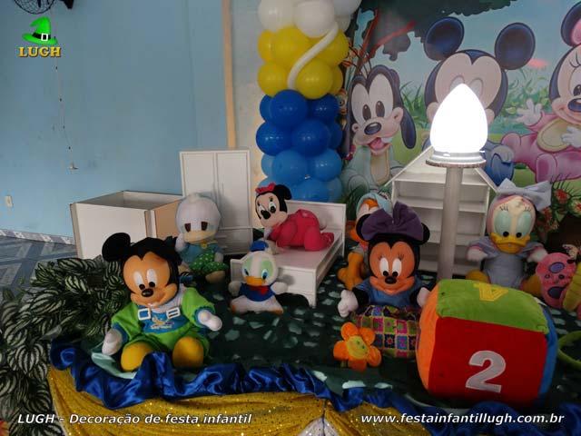 Decoração infantil baby Disney - Festa de aniversário