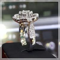 Jual Cincin Berlian Model Bunga