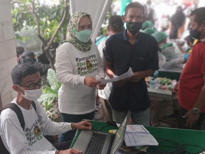 Kali Kedua DPC PPP Gelar Vaksin Massal. Sasaran Pelajar dan Warga Kota Depok