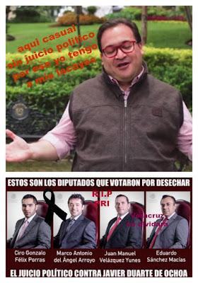 Traicionan a Veracruz diputados del PRI y su aliado del PVEM