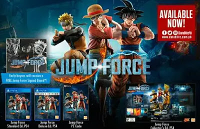 Game Anime Untuk PC Jump Force