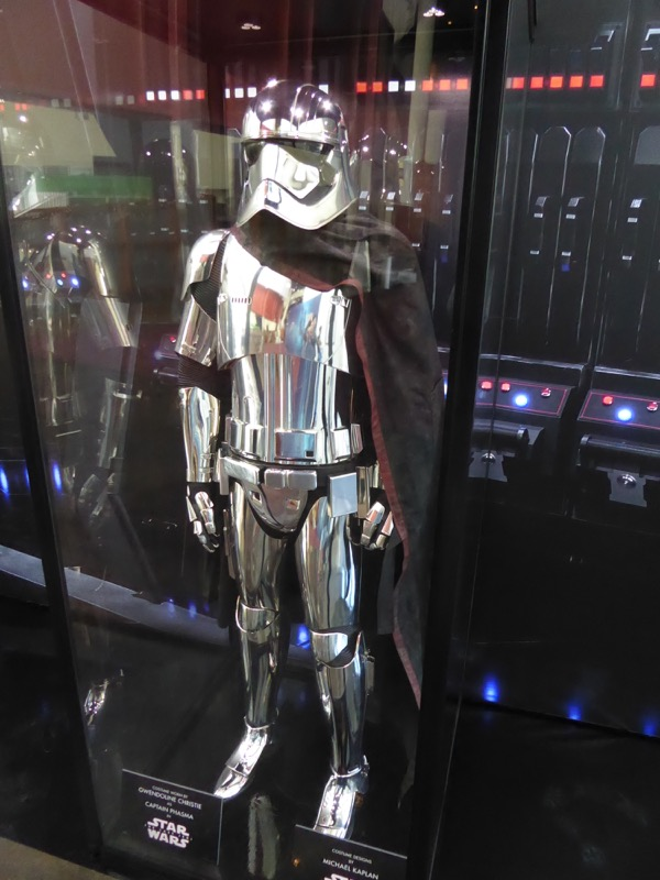 Star Wars Last Jedi Captain Phasma costume
