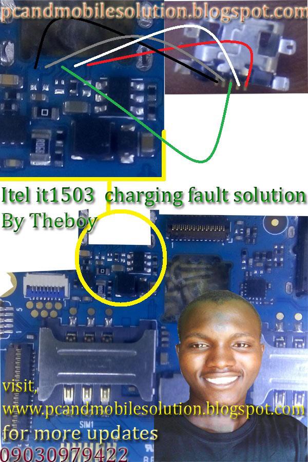 Itel it1503 Charging jumper Solution - Jumare's blog