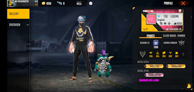 TSG Legend's Free Fire ID, Real name, Stats, Monthly income, and more